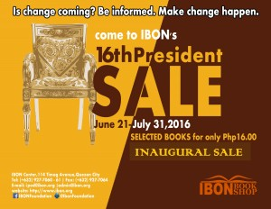 16th President sale may upuan final FINAL
