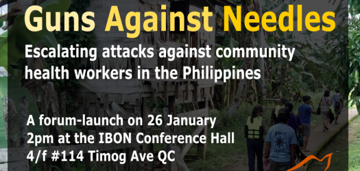 Guns Against Needles: Escalating attacks on community health workers in the Philippines