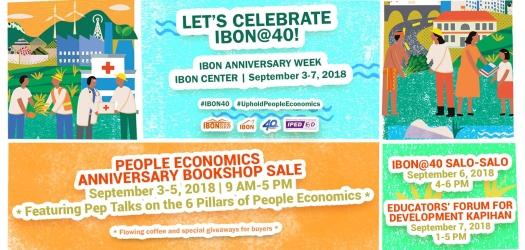 IBON@40 People Economics Anniversary Week
