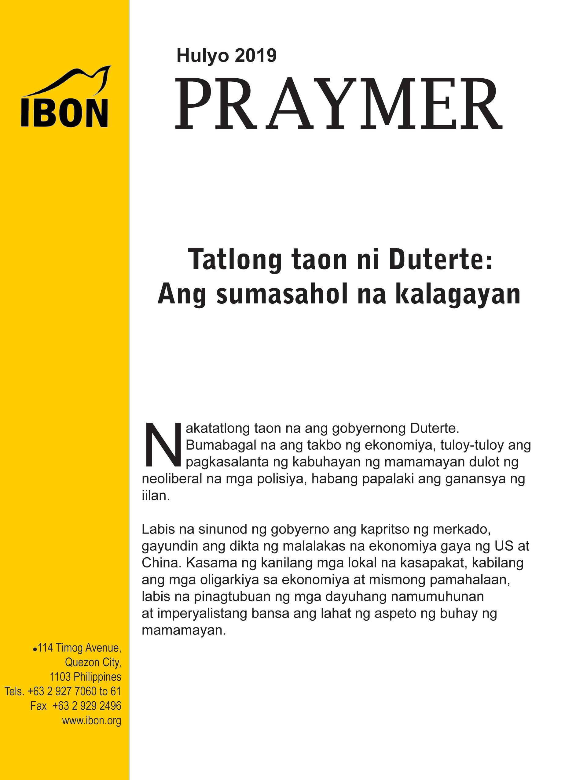IBON Foundation – Serving the Filipino people through
